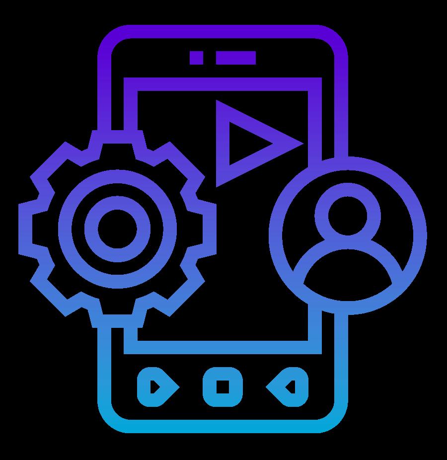 Icono Apps móviles