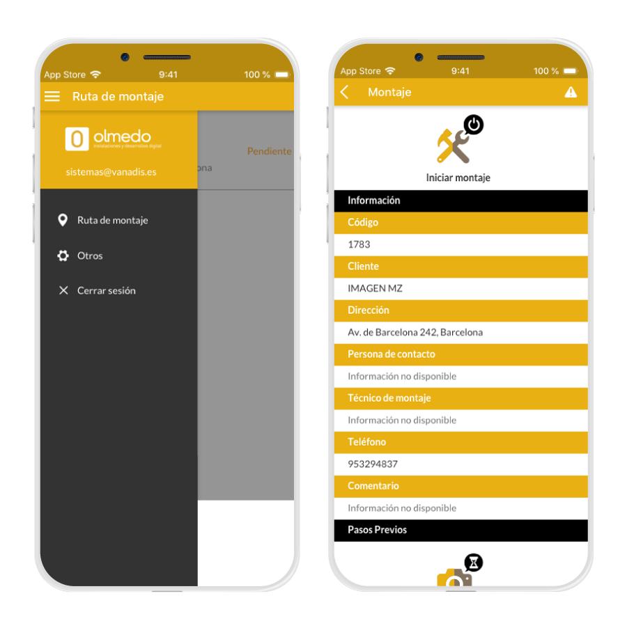 app instalaciones y montajes