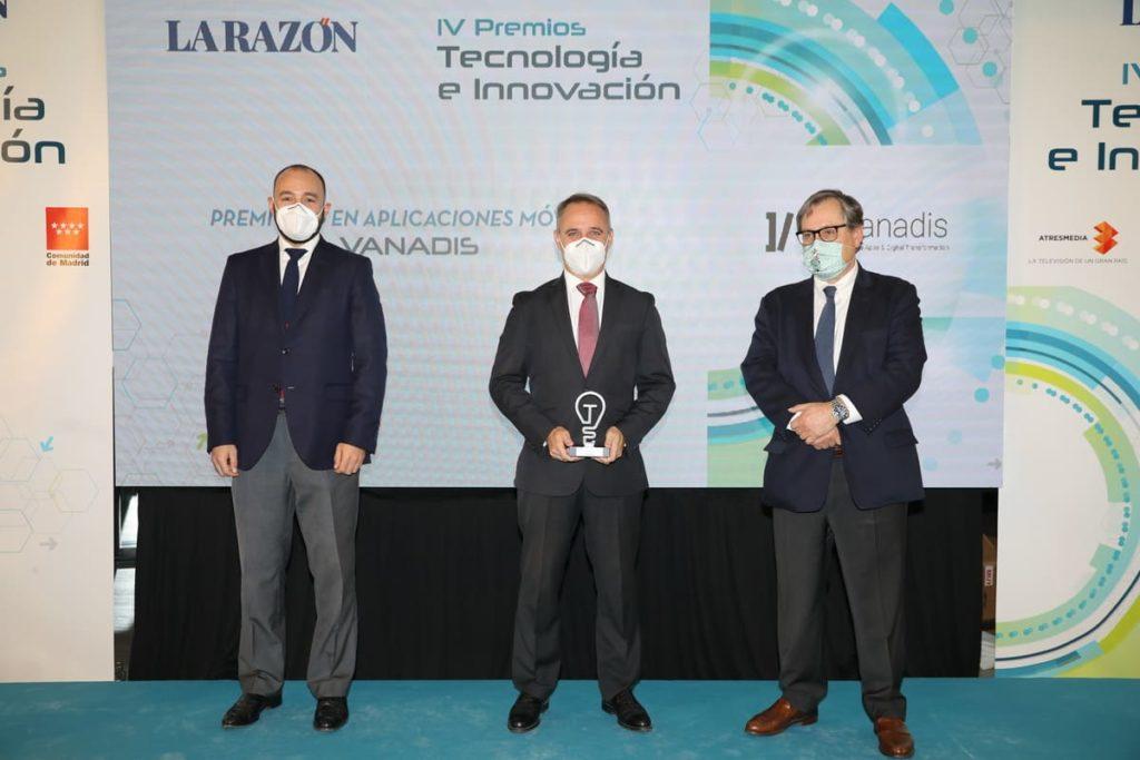 premios de tecnología la razón mejor empresa de desarrollo de apps