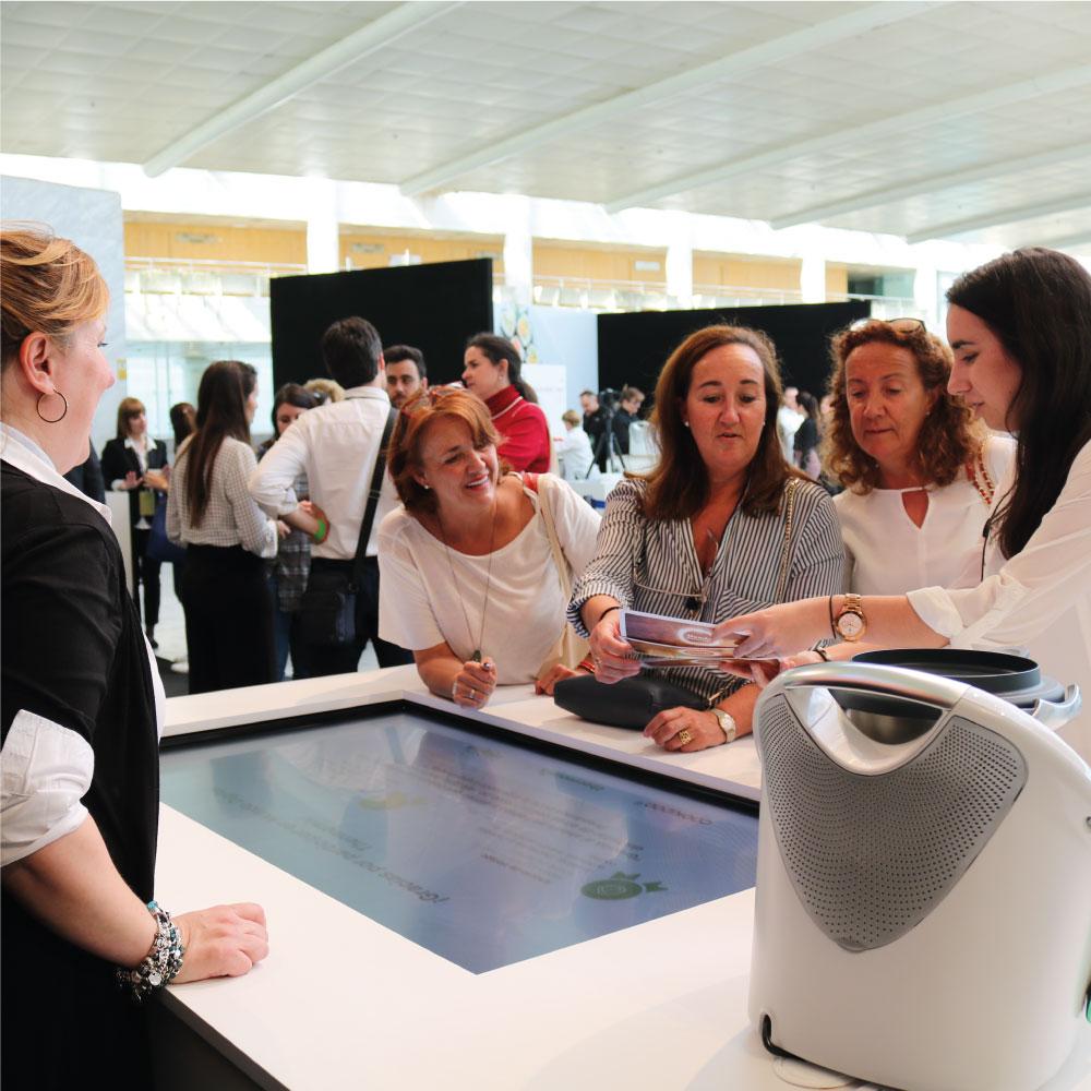 experience room mesa interactiva