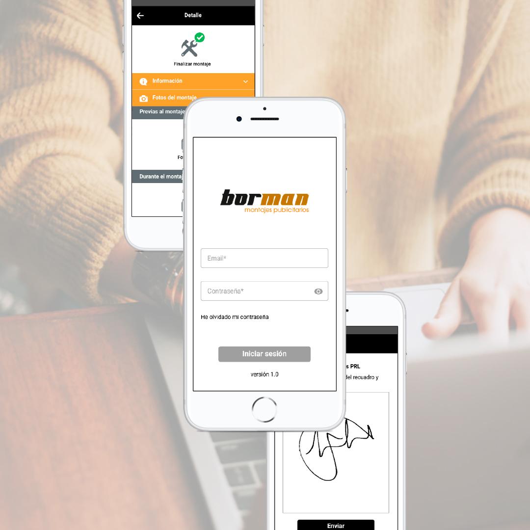 app digitalización procesos de montaje