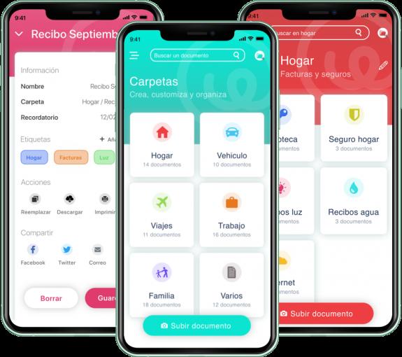funcionalidades app filder