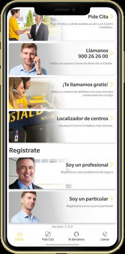 Servicios app Cristalbox