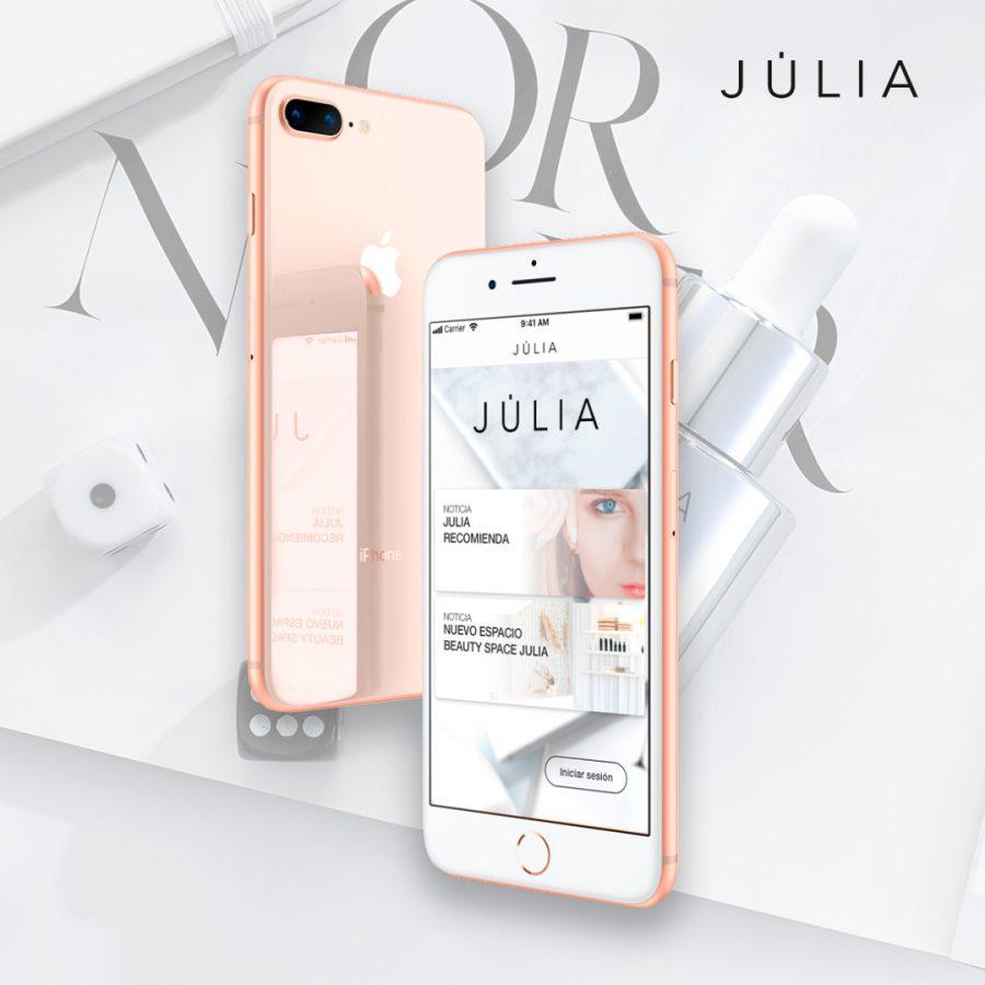Apps Perfumerías Júlia