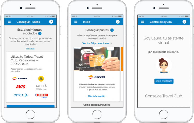 travelclub app funcionalidades y servicios