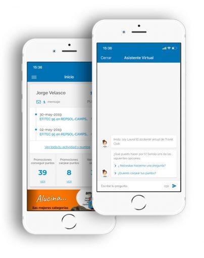 travelclub app asistente virtual